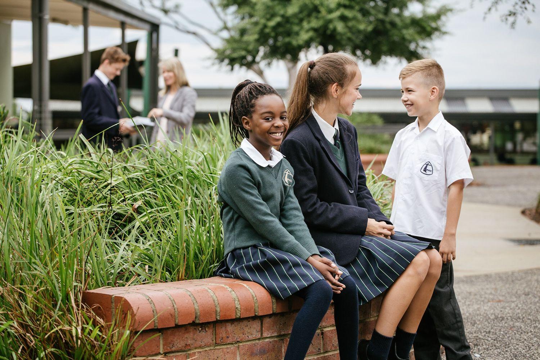 melboure private school children